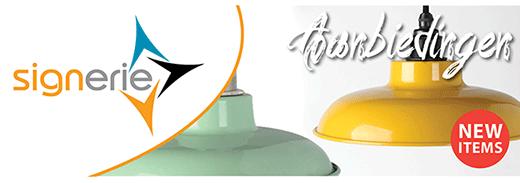 Nieuwe lampenkappen op lampenlichthandel