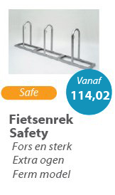 Fietsenrek Safety